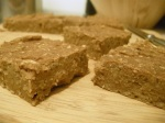 Low fat pumpkin bean bars