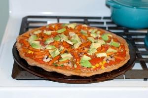 Potatoe pizza 1