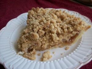 Apple Crumb Pie 001