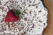 Шоколадно-фруктово-ореховый торт (без муки)