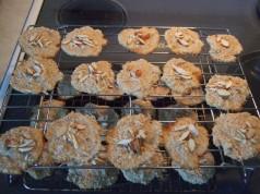 Рецепт №1 (можно оставить печенья плоскими)