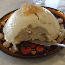 Веганский (без яиц) БГБК сырный десерт (как пасхальный творожный)