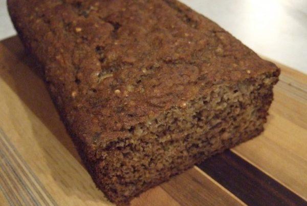 Banana-qoinoa(buckwheat) bread