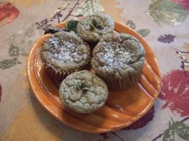 Кексы-маффины из тыквенных семечек