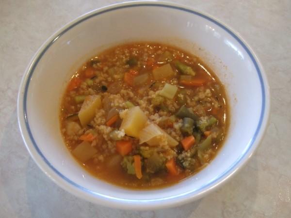 Тосканский овощной суп с киноа