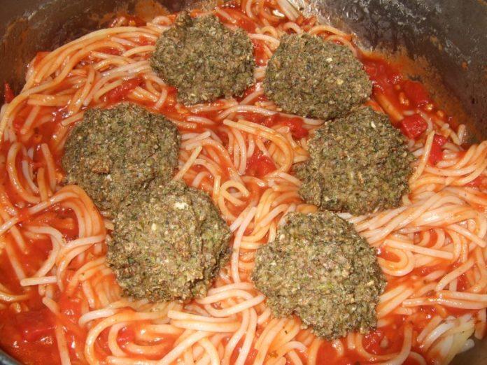 Биточки с БГБК спагетти