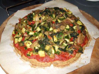 БК Палео пицца из цветной капусты