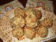 Мини-кексики с квашеной капустой
