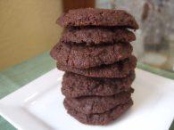 Шоколадное печенье без злаков, крахмала, яиц и сахара