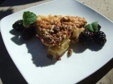 fruit souflee -zapekanka