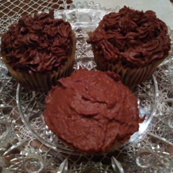 chocolate sweet potatoe frosting1