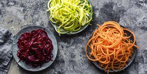Палео-спагетти из овощей